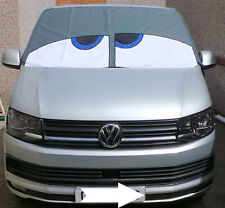 VW T5 / T6 original Bus Eyes screen cover / wrap Happy Buseyes blind Grey