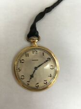 Longines 18k Pocket Watch