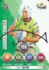 ✺Signed✺ 2016 CANBERRA RAIDERS NRL Card JARROD CROKER Power Play