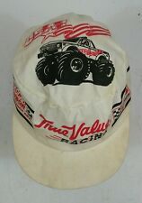 Vintage 80s Big Foot Monster Truck True Value Racing Snap Back Painters Hat Cap