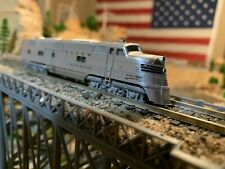 KATO 106-090 N Scale E5A Pass 6 unit Set Silver Streak Zephyr NEW well detailed!