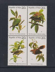 Palau- 1983, Oiseaux Ensemble - Bloc De 4 - MNH - Sg 5/8