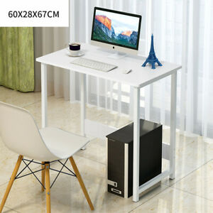 Computer Desk White Small Laptop PC Table Home Office Study Gaming Desk