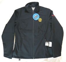 Columbia Manchester United MUFC Womens Jacket  Black Kruser Ridge Softshell XL