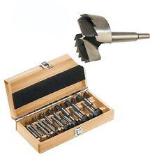 Frese Forstner/Punte svasatrici per legno set 15 pezzi in valigetta