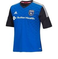 Adidas MLS San Jose Earthquakes Mens Replica Soccer Jersey  M38539
