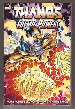 Thanos Cosmic Powers  TPB  (Marvel 2015 1st Print)  VF/NM  ~Marz, Grindberg~