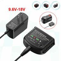 9.6-18V Battery Nickel-Charger For BLACK & DECKER NI-CD&NI-MH HPB18 HPB182 FSB18