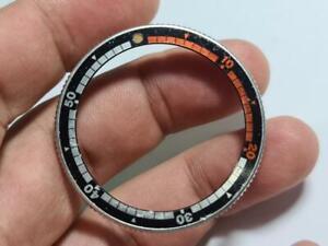 GENUINE USED ROTATING BEZEL RING W/ INSERT SEIKO REGATTA 6119-6050 6119-6053