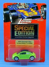 Johnny Lightning Special Edition VW Concept One Green 1 of 5000 NewsFlash Club