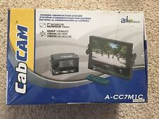 "CabCAM Video System(Includes 7"" Color Monitor and 1 Camera) CC7M1C"