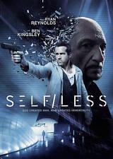 Self/less (DVD, 2015) U.S. Issue W/ Digital Download Ryan Reynolds Ben Kingsley!