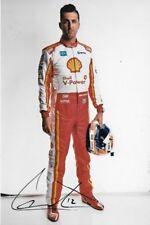 Fabian Coulthard SIGNED  Shell Racing DJR Penske Portrait   2018