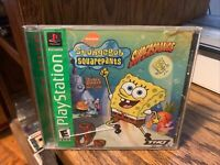 SpongeBob SquarePants: SuperSponge (Sony PlayStation 1, 2001)COMPLETE/TESTED!