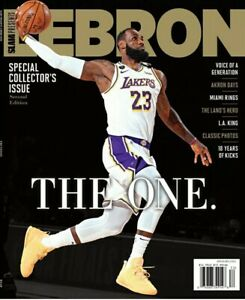 """SLAM 2020 LeBron James Los Angeles Lakers Special Collector's Issue """"The One"""""""