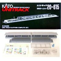 Kato 20-815 Station 1 Voie / Platform 1 Track Complete Set - N