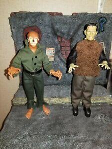 "2021 Mego Universal Monsters Wolfman & Son of Frankenstein 8"" Action Figures"