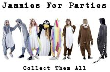 Jammies For Parties Animal Pajamas One Piece Unisex For Adults