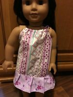 """Fits 18"""" Girl American Doll CLothes Pillowcase Dress Night Gown Handmade"""