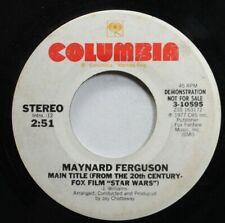 "Pop Promo 45 Maynard Ferguson - Main Title (From The 20Th Century Fox Film ""Star"