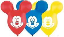 "5 pc 15"" Disney Mickey Mouse Ears Latex Balloon Party Decoration Happy Birthday"