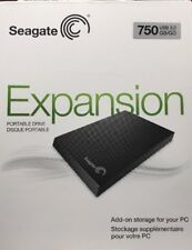 *NEW* Seagate Expansion 750GB Portable External Hard Drive USB 3.0 STBX750100
