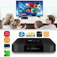 TX3 Mini Smart TV Box Android 7.1 Amlogic S905W Quad Core WiFi 2GB RAM 16GB ROM~