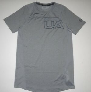 Under Armour Mens Mk-1 Graphic Fitted HeatGear Training Performance Shirt