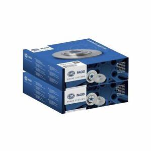 Front Brake Discs Pair 340mm 55569PRO fits Citroen DS4 DS4 1.6 THP 200