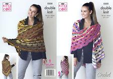 Baby Boys Girls Circular lace Shawl Cot Blanket CROCHET PATTERN DK 34 x30in 1299