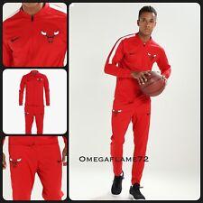 Nike Dry NBA Chicago Bulls Track Suit, 923080-657, Sz Large Dri Fit