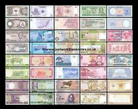 World Banknote Sets  - Many Variations -  All Mint UNC   * MULTI LISTING *
