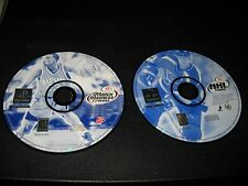 PS1 NHL 2000 & March Madness 2000 games Discs only!!