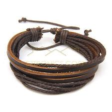 Fashion Charm Unique Simple Multilayer Mixed Colors Leather Bracelet Strap