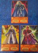 YuGiOh Orica/Anime Style  Legendärer Ritter Critias ,Hermos u. Timaeus