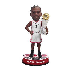 Kawhi Leonard Toronto Raptors 2019 NBA Finals Champions - MVP Bobblehead Knocker
