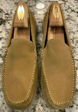 NEW Tommy Bahama Loafers, Boat Shoes, Men's Size 8, Brown / Tan Suede, Slip On