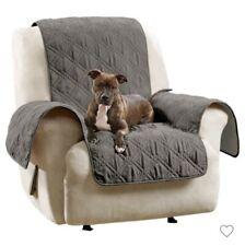 SUREFIT Chair/Recliner Furniture Cover Grey Non slip Waterproof NEW
