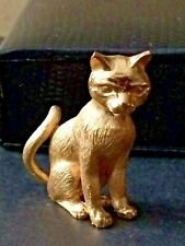 Unusual rare Trifari Cat Brooch - can be used as standing ornament