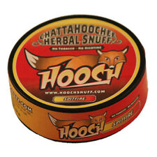 Hooch Snuff - Tobacco Free, Spitfire Flavor, 1 Roll (6 Cans)