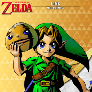 Link Majora's Mask Amiibo COIN | The Legend of Zelda Series