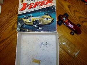 1/24 Slot Car Classic Viper with Box and Cheetah Body - Used