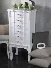 Nachtschrank Kommode Nachttisch Nachtkonsole Schubladen Weiß Nachtkommode Schran