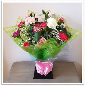 FRESH REAL FLOWERS  Delivered Carnival Bouquet Free Flower Delivery
