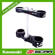 TRIPLE CLAMPS KAWASAKI KXF 250 KX250F 2007 2008 2009 2010 2011 2012 SCAR CLAMP