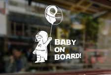 25cm Baby on board Star wars in car Vinyl Stickers Decal Car Auto Glass Bumper