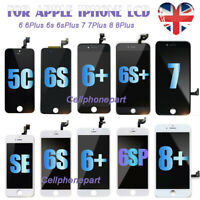 For iPhone 6 6S 7 8 Plus Screen Replacement LCD Digitizer Touch Display Camera