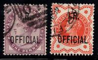 Großbritannien 1882-1888 Mi. 40,48 Gestempelt 100% dienstmarken