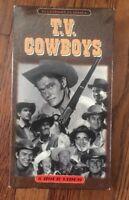 Television Classics T.V. COWBOYS VHS