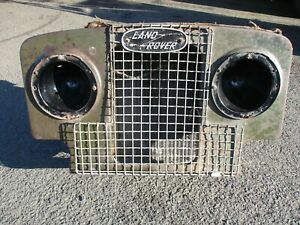 Land Rover Series 1 front end panel, radiator, grill badge etc